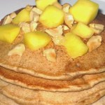 Asian-Inspired Pancakes and Syrup