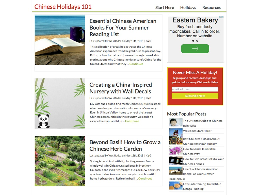 ChineseHolidays101 com Provides a One-Stop Chinese Cultural Resource
