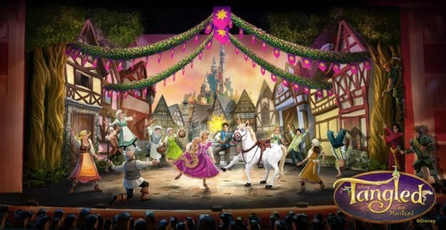 Watch Tangled: The Musical on Disney Cruise Lines this fall. Image: Disney Cruise Lines
