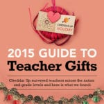 Survey Shows Teachers Most Wanted Gifts