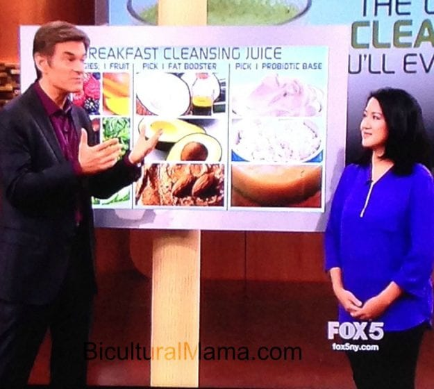 Dr. Oz Bicultural Mama Juice Cleanse 1