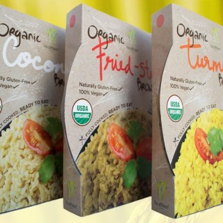 Healthee Organic Brown Rice Bowls