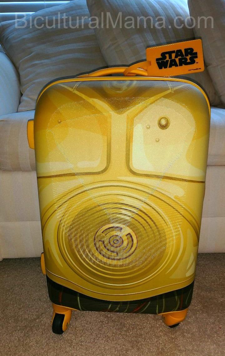 Bicultural Mama C3PO Suitcase
