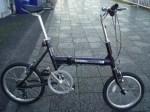 ブリヂストン折りたたみ自転車 トランジット