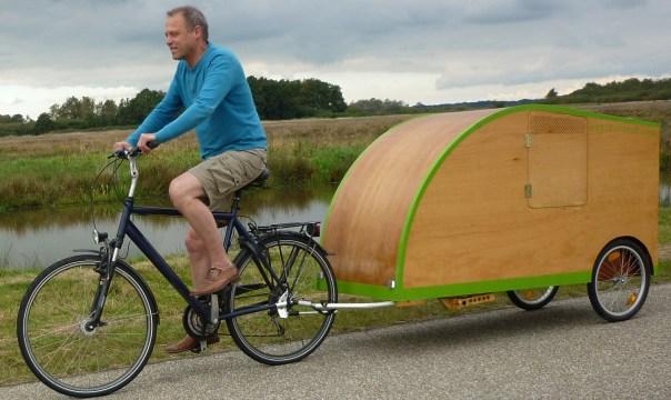 bicycle caravan bicycle camper bicycle caravan