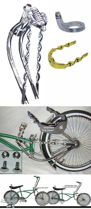 Custom Lowrider Bicycle Frames