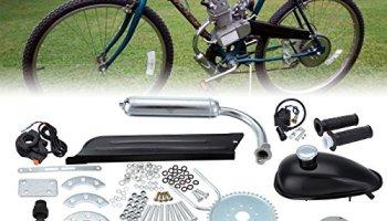 Ridgeyard 50cc Bike Bicycle Motorized 2 Stroke Cycle Motor Black