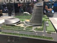 Giant plans a grand opening of its new headquarters prior to the show. The company showed a model at the 2019 show.