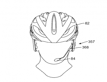 SRAM's patent also mentions a helmet-mounted voice-controlled shifter.