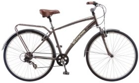 Schwinn Men's Network 2.0 700c Hybrid Bicycle, Matte Sand