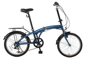 TEMPEST 20″ Folding Bike Shimano 6 Speed – Rear Rack & Fenders