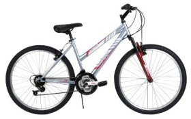 Huffy Bicycle Company Women's 26334 Alpine Bike, Lavender Ice, 26-Inch
