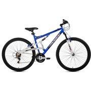 29″ Genesis V2900 Men's Mountain Bike, Blue/White