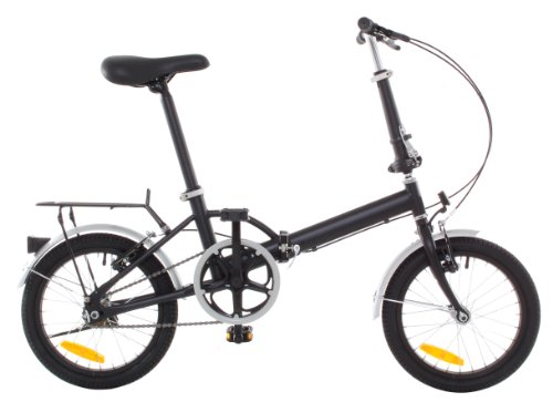 Omega Folding Bike Foldable Bicycle with Rack & Fenders