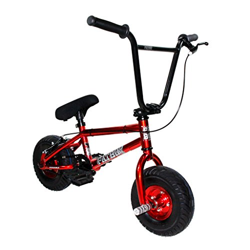 Fatboy Mini BMX Bicycle Freestyle Bike Fat Tires Candy Red Assault PRO
