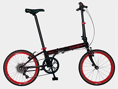 Dahon Speed D7 Obsidian Red Folding Bike Bicycle