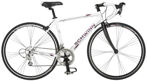 Schwinn Women's Phocus 1600 700C Drop Bar Road Bicycle, White, 16-Inch