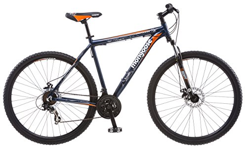 "Mongoose Impasse HD 29″ Men's Mountain Bike, 18 "" Frame Blue"
