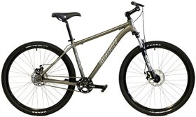 Gravity 27Five FS 27.5 650b Single Speed Disc Brakes Mountain Bike (Green, 15in)