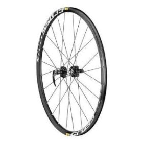Mavic CrossOne 26 Inch Mountain Bicycle Front Wheel (Black – 26)
