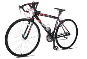 Merax 21-Speed 700C Aluminum Road Bike Racing Bicycle, 54CM Red