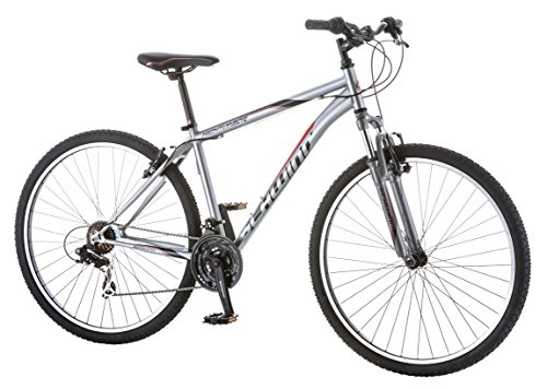 Schwinn Men's High Timber Bicycle with 29″ Wheels, Grey, 18″/Medium