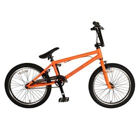 KHE Equilibrium 3 BMX Bicycle, 20 inch wheels, 19.5 inch frame, Matte Orange