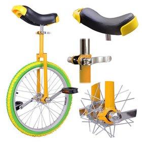Lemon Lime 20in Wheel Unicycle