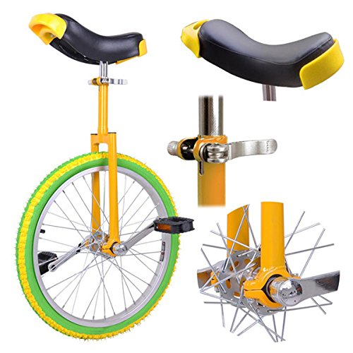 Lemon Lime 20in Wheel Unicycle