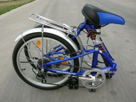 Columba 20″ Alloy Folding Bike w. Shimano 7 Speed Blue (R20A_BLU)