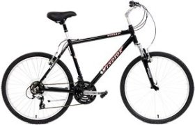 Windsor Dover 2.0 21 Speed Comfort Bike Mens and Ladies Bicycle with Suspension Fork and Seatpost