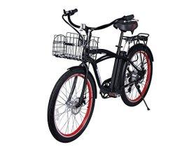 Newport Beach Cruiser Electric Bicycle – Black