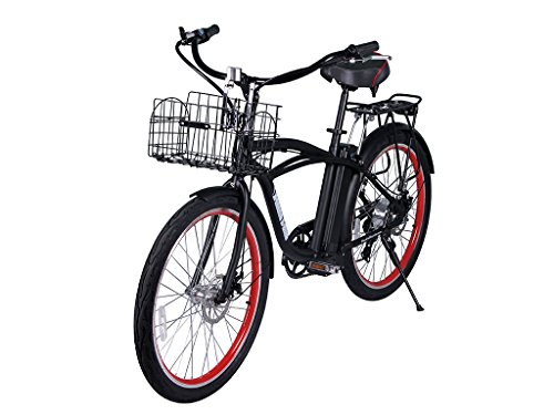 Newport Beach Cruiser Electric Bicycle – Black