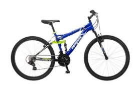 26″ wheel Mongoose Ledge 2.1 Men's Mountain Bike