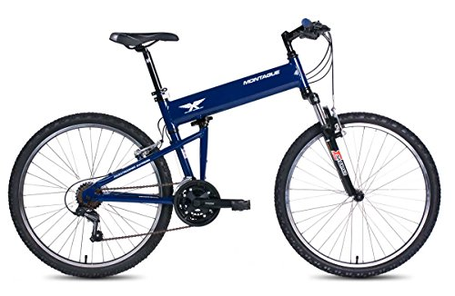 Montague Paratrooper Express Folding Bike, Air Force Blue
