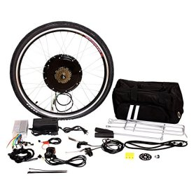 Tenive Electric Bike Conversion Kit – 26″ Rear Wheel 48v 1000w Electric Battery Powered Bicycle Conversion Kit ( Battery not included )