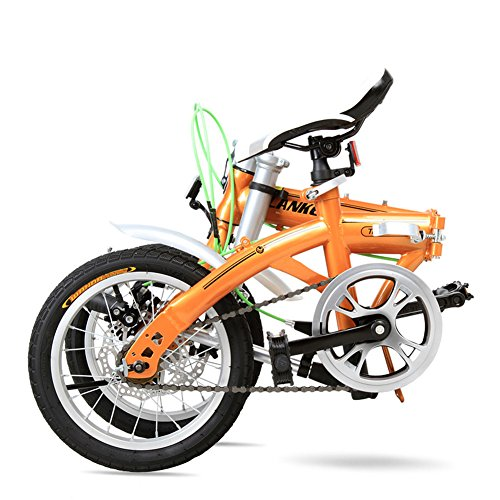 FunnyPro Folding Bike 6 Speed Foldable Bicycle Lightweight for Students