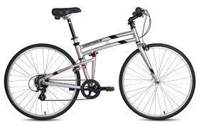 New 2016 Montague Crosstown Folding 700c Pavement Hybrid Bike Boulder Gray 19″