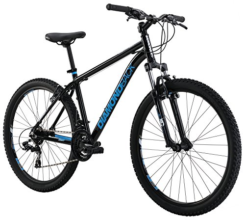 Diamondback Bicycles Sorrento Hard Tail Complete Mountain Bike, 18″/Medium, Black
