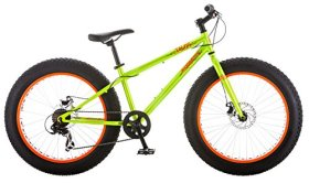 Mongoose Talos 24″ Fat Tire Bicycle, 14″/One Size, Green
