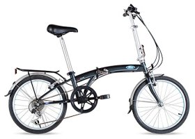Ford by Dahon C-Max 7-Speed Folding Bicycle, 20″, Gray