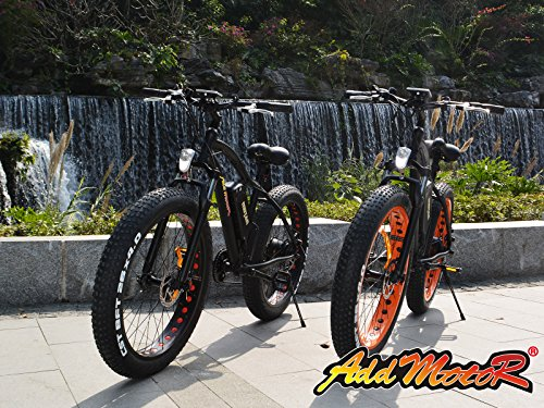 Addmotor MOTAN New Updated Electric Bicycles For Sale M-550 48V 500W Bafang Motor 10.4AH Sansung Lithium Battery Mountain Bicycle With Shimano 7 Speeds Fat Tire Suspension Fork