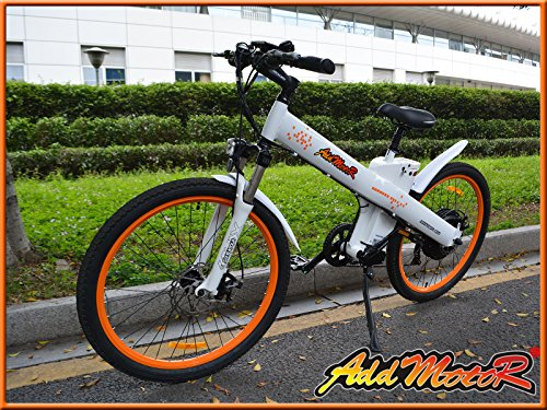 Addmotor® XIMA 2016 Electric Bicycles For Sale 1000W 48V Motor 13AH Stelth Lithium Battery Shimano 7 Speed Electric Bicycles For Adults With Suspension Fork