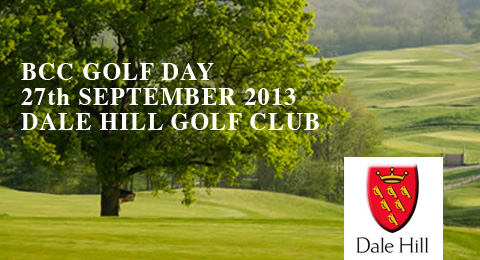 BCC Golf Day, 27th September at Dale Hill