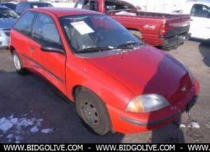 1997 GEO METRO LSI Hatchback Car For Auction At BidGoLive