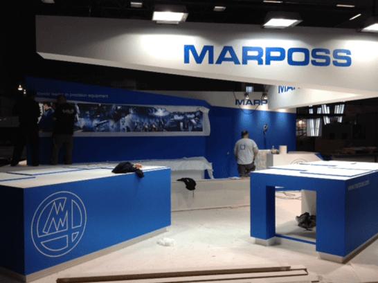 Branding corporativo para stand MARPOSS_1
