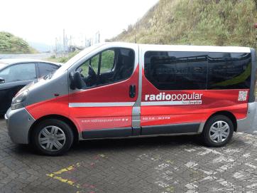 Rotulación de furgoneta Herri Irratia_4
