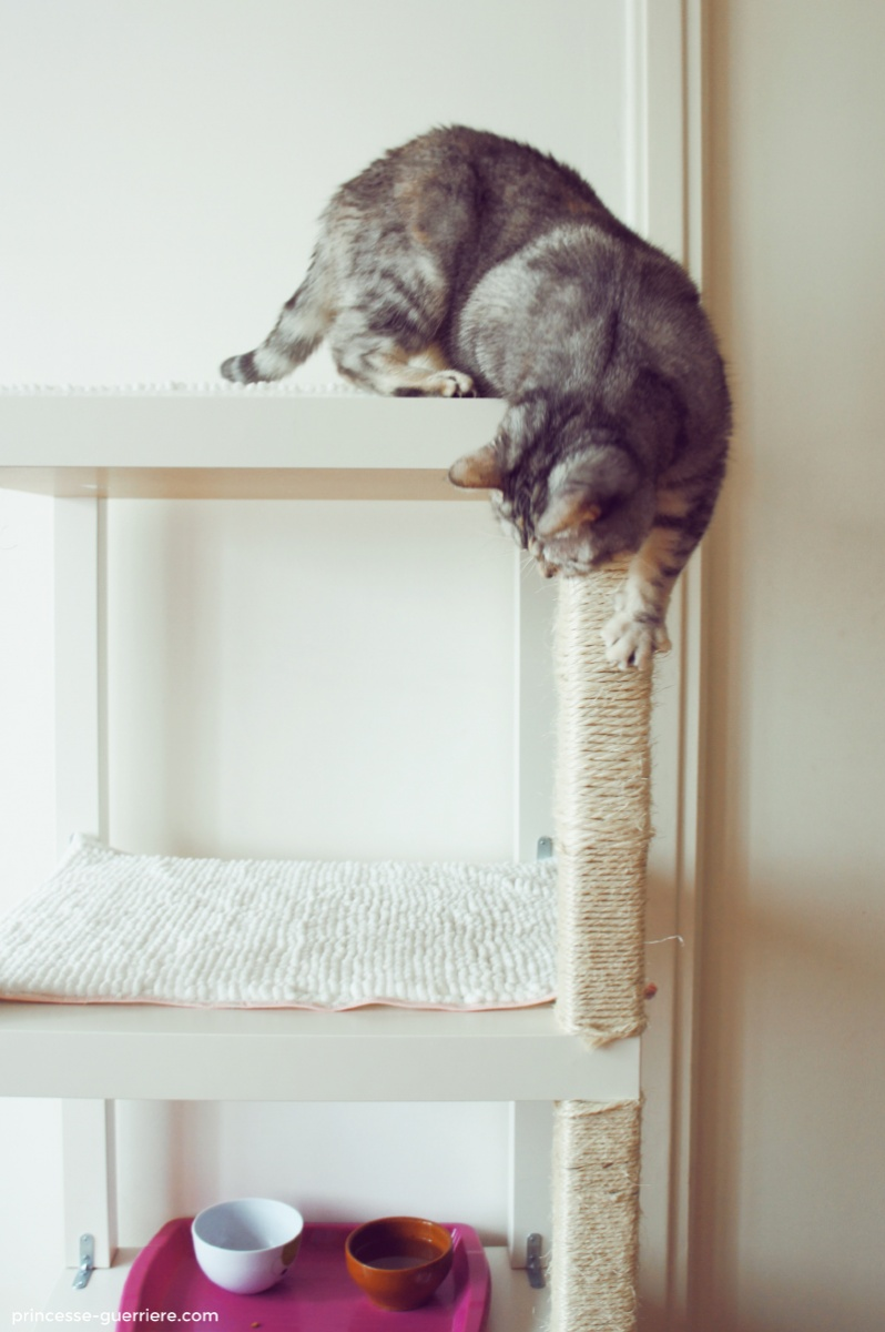 Un Arbre Chat IKEA DIY