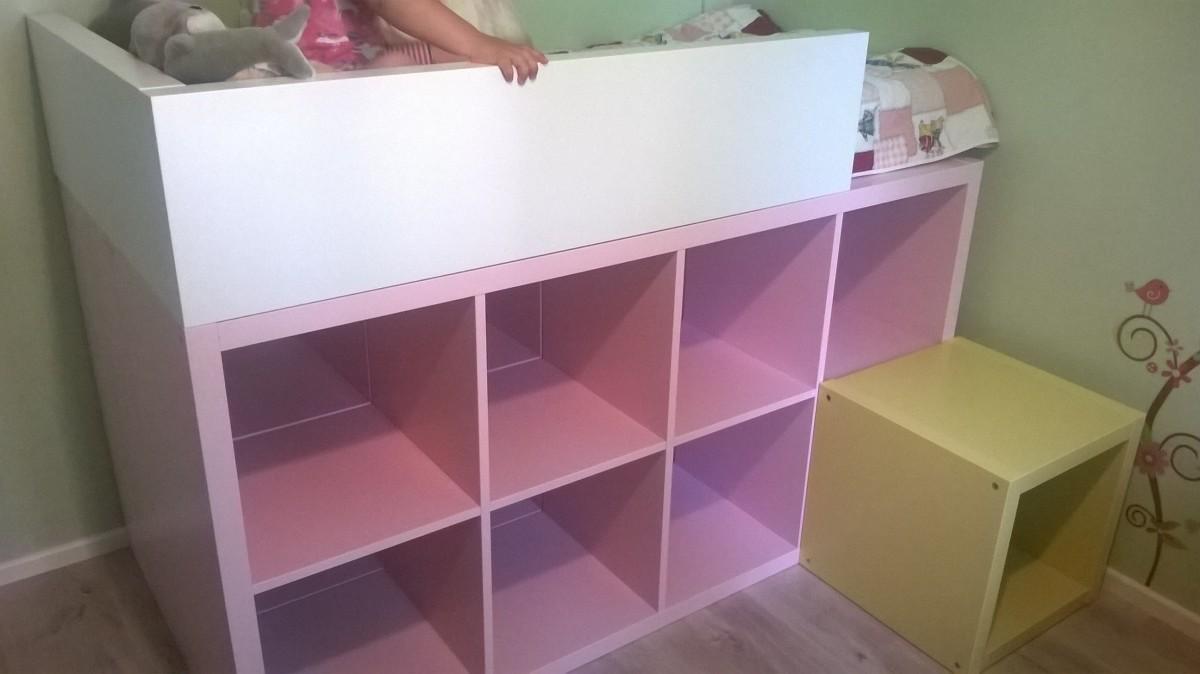 Un Lit Enfant Bibliothque DIY