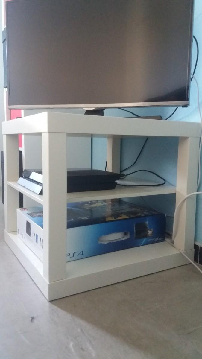 fabriquer un meuble tele a petit prix